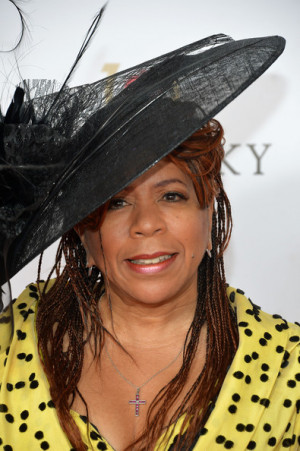 Valerie Simpson Valerie Simpson celebrates the 139th Kentucky Derby