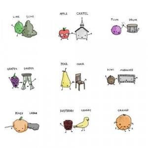 ... # cute fruit # drawing # doodle # rhyming # rhyme # love # orange
