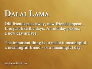 Dalai Lama Friendship Quotes