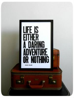 DIY: Travel Quote Canvas