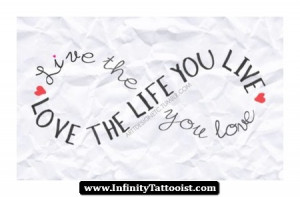 By tonybaxter in infinity symbol quote tattoos No Comments