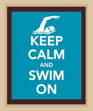 Friday's Quotes - swimming