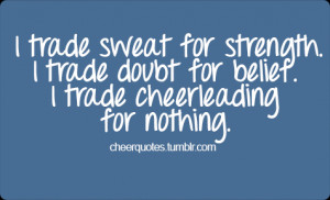 Cheerleading Quotes Funny And