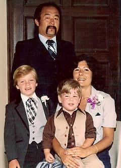 rod fujita and wife helen r with sons jason l and scott lillie fujita ...