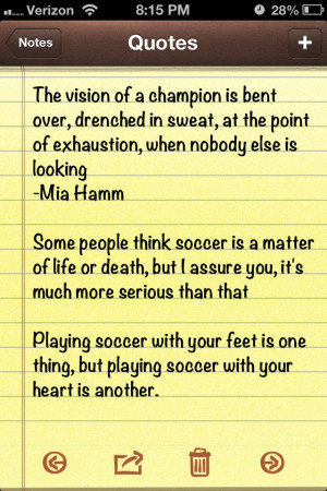 Best soccer quotes around!! :)
