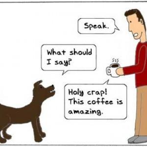 Talking dog, =)
