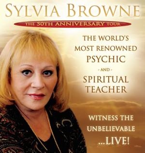 Sylvia Browne: Sylvia's Tour Dates