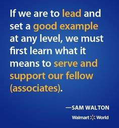 great quote from our founder sam walton more quote 15 2 1