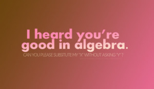 algebra, cute, funny, humor, humour, love, math, maths, quote ...