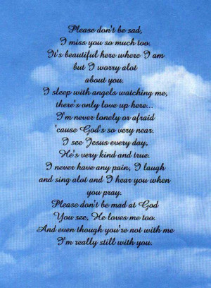 mom found this poem and liked i miss you poem for mom after