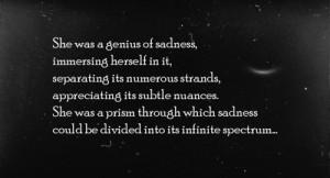 black, dark, quote, sadness, stars, typography, words, writing