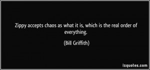 Zippy accepts chaos as what it is, which is the real order of ...