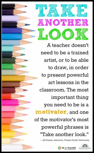Teacher Quote by Jill Faison