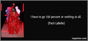 Patti LaBelle Quote