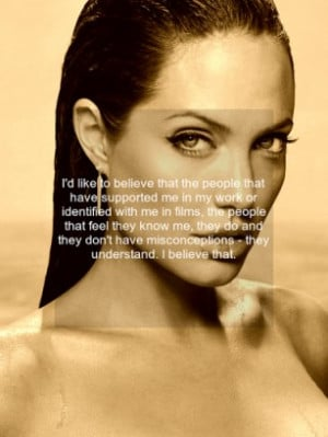 Angelina Jolie quotes, is an app that brings together the most iconic ...