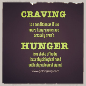 craving and hunger