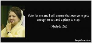 More Khaleda Zia Quotes