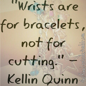 quote Kellin Quinn sleeping with sirens quinn Kellin wrists are not ...