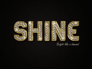 ... for this image include: typography, bright, diamond, quotes and shine