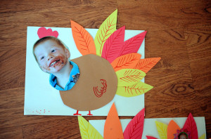funny turkey craft, paper turkey craft with pictures