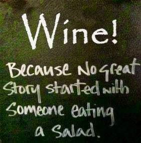Cute quote about wine