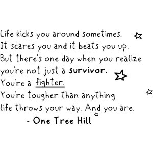 Quotes or sayings or one tree hill image by crxzylove on Photobucket