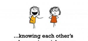 Tagged: cute friendship sayings