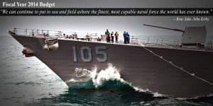 Navy's Budget Ensures World's Most Capable Naval Force