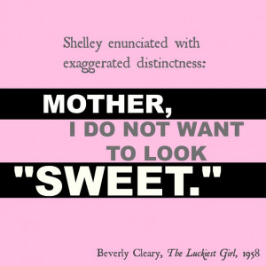ya fiction | book quotes | Beverly Cleary