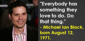 Michael Ian Black, born August 12, 1971. #MichaelIanBlack # ...
