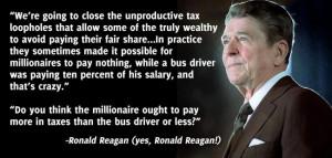 Ronald Reagan gets it right