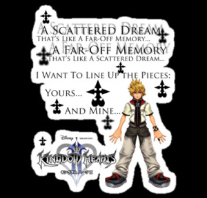 Kingdom Hearts Heartless Quotes Kingdom hearts 2 (roxas) by