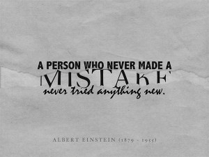 made a mistake by adrian r eriksen a person who never made a mistake ...