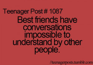 best friends, fact, quotes, so true, teenager, teenager post, text ...