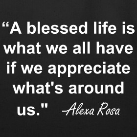 Design ~ Blessed Life Quote