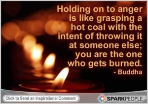 Let go of all your anger ;)