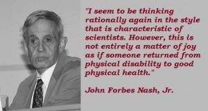 John forbes nash jr famous quotes 2