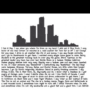 Love this!!! I am Detroit