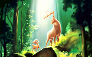 Walt Disney Bambi Desktop Wallpaper