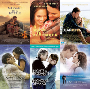 Top 10 Ingredients to a Nicholas Sparks tear-jerker