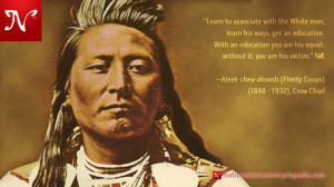 Chief Plenty Coups ~ Crow