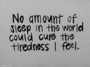 sleep!!! I hate being sick