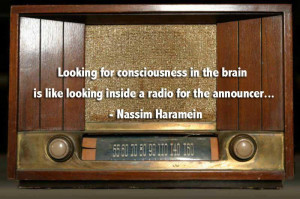 Looking for consciousness in the brain is like looking inside a radio ...