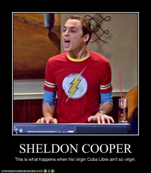 big bang theory sheldon cooper quotes
