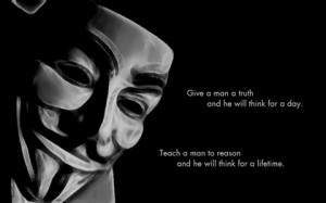 anonymous minimalistic dark quotes men typography masks proverb black ...