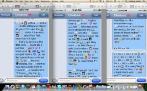 Song Lyrics Using Emoji