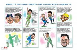 ICC World Cup Cricket 2015: India vs Pakistan, Pool B match at ...