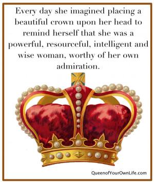 Queen Crown On Head