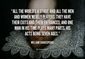 Famous Shakespeare Quotes Life