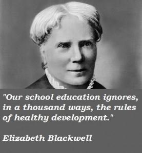 Elizabeth blackwell famous quotes 1
